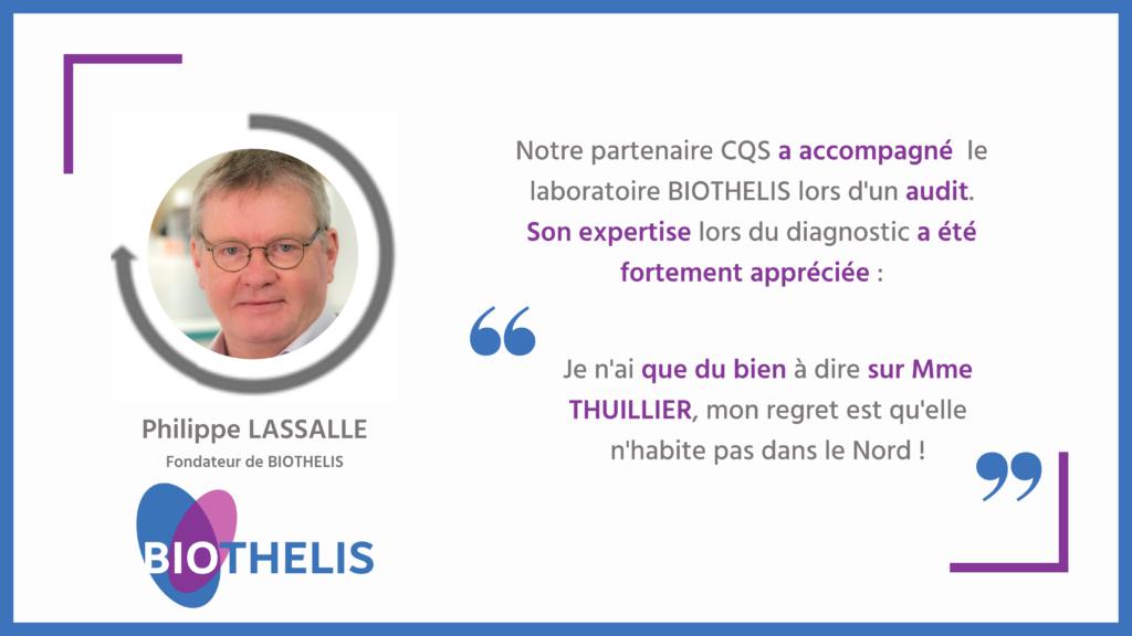 Retrouvez le témoignage de Philippe LASSALLE, notre client qui a été accompagné par Claire THUILLIER, notre consultante partenaire présidente d'AVISO Santé.